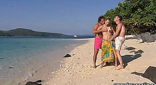 Jays Threesome at the Beach