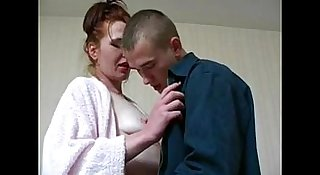 Lana - redhead russian milf with younger guy