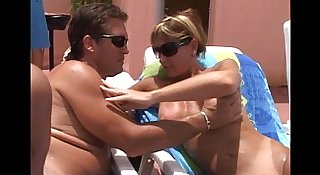 Cum Fun In Sun-Pussy mouth MILFs-cougars suck cum from cocks young and old