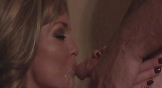 Sloppy Loud Blowjob From Blonde Amateur
