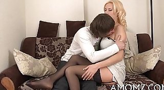 That babe likes cock in throat and twat