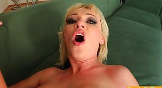 Milf Thing Big titted MILF takes on two in the ass 07